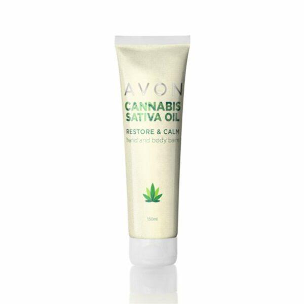 Bálsamo para Cuerpo y Manos Repara y Calma con Aceite de Cannabis Sativa